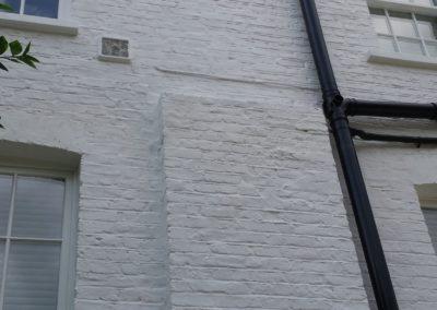 Chelsea External Renovation Project, exterior painting London