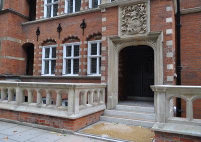 Kensington External Renovation, exterior painting London