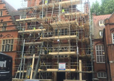 Kensington External Renovation, exterior decorating London