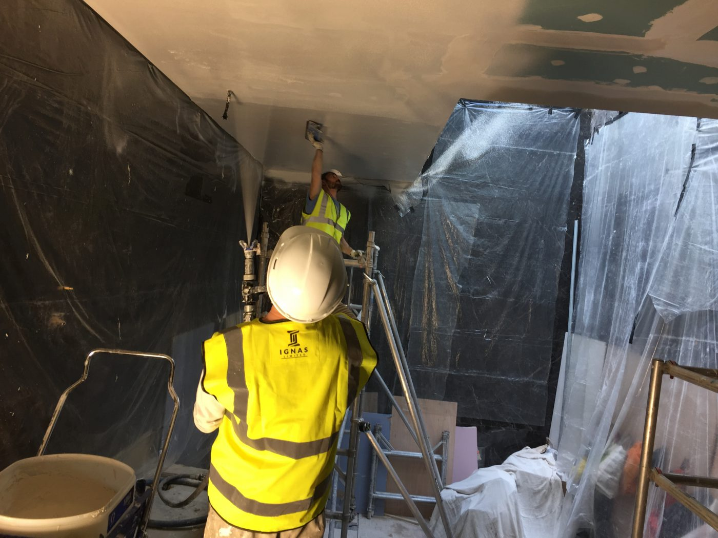 plastering London