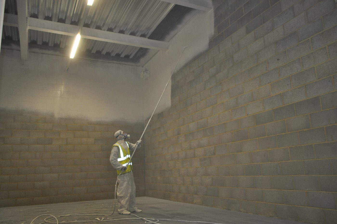 Spray painting services in London