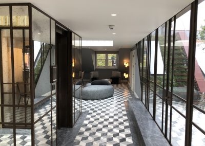 Knightsbridge Penthouse Project, painting and decorating in London