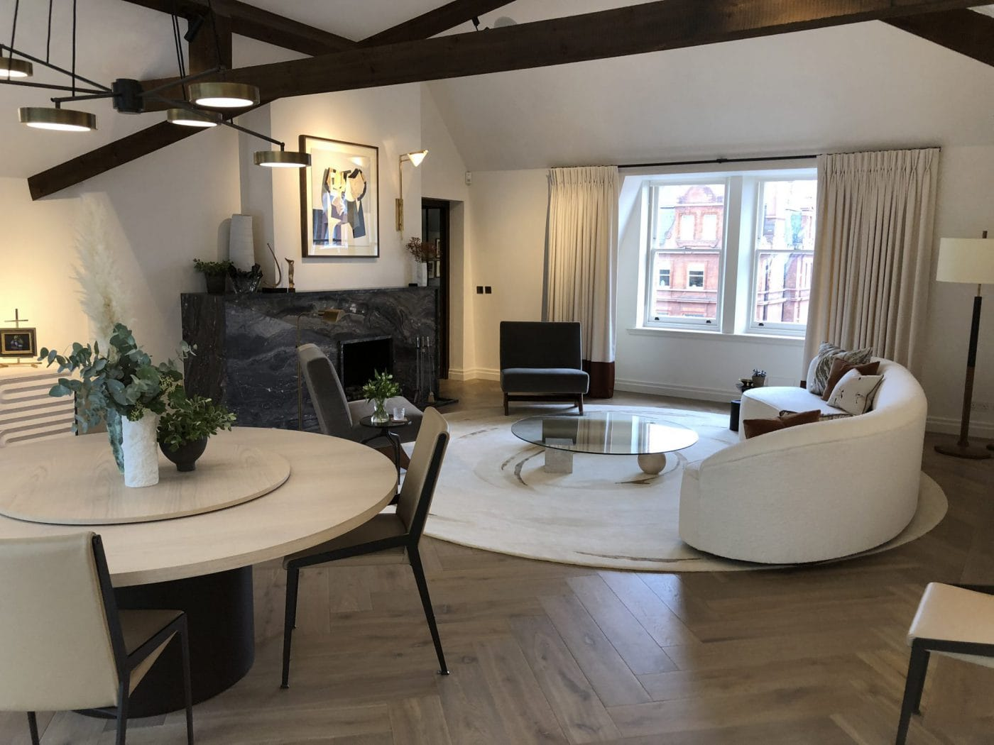 Knightsbridge Penthouse - Residential Painting and Decorating