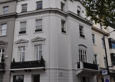 Belgravia Apartament Project, painting and decorating in London