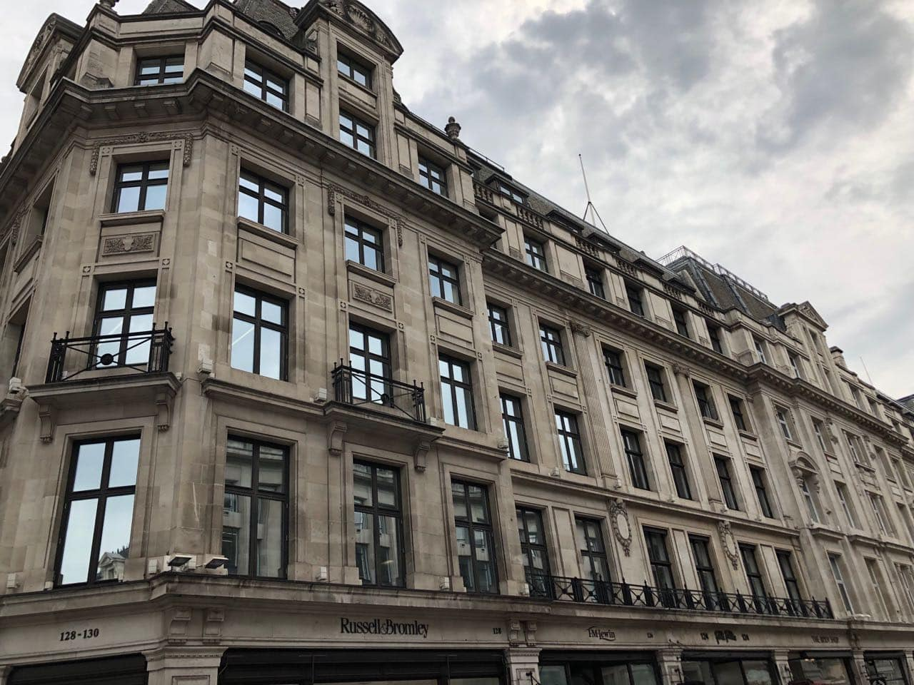 Regent Street Offices commercial painting project
