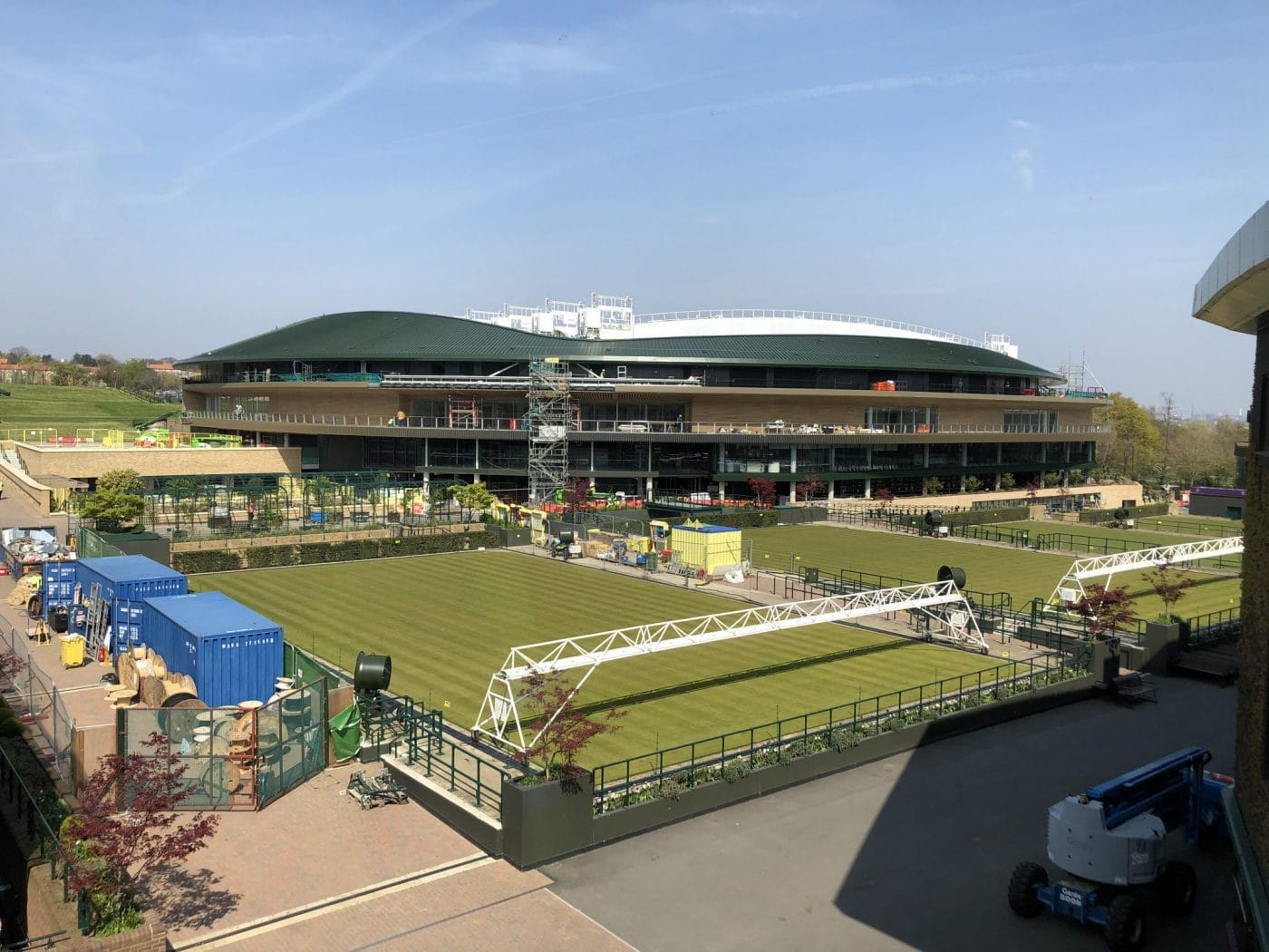 The All England Lawn Tennis and Croquet Club in Wimbledon, commercial painting and decorating