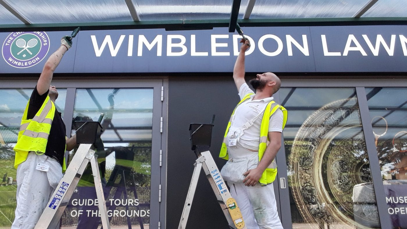 The All England Lawn Tennis and Croquet Club in Wimbledon