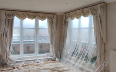 How to prepare and protect your home interior before painting and redecorating